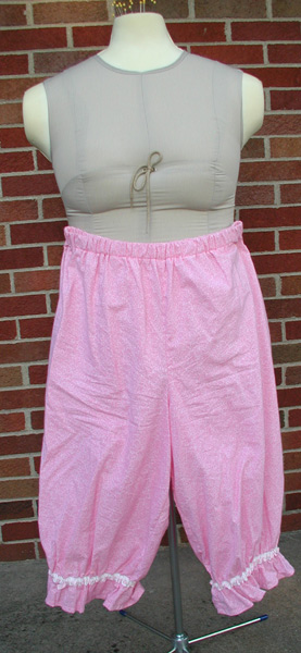 Close up of Pink Bloomers