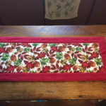Holiday Table Runner Fall Side