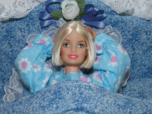 Barbie Can Not Sleep