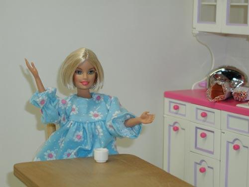 Barbie Decides to Go Shopping
