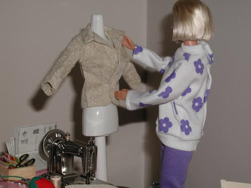 Barbie Pining Jacket on Manakin